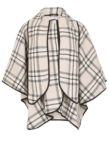 David Barry Short Cape With Scarf
