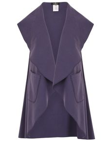 David Barry Waterfall Sleeveless Jacket