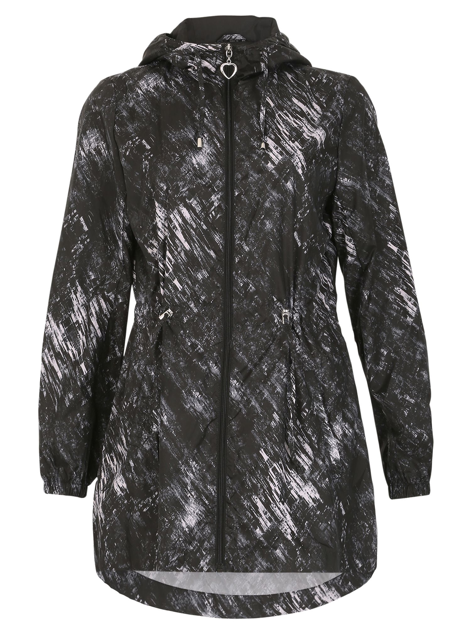 David Barry Light Weight Unlined Showerproof Jacket, Black