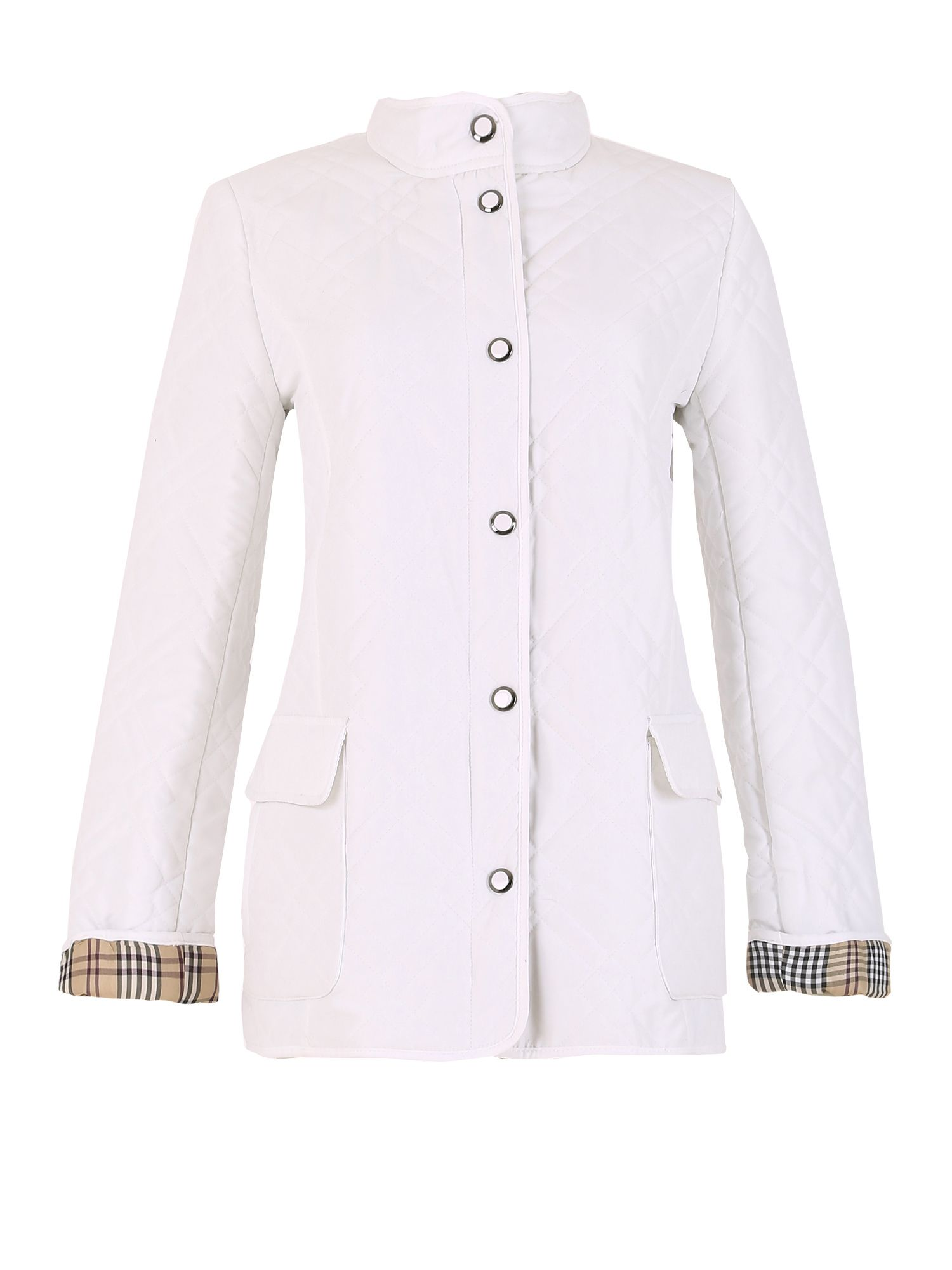 David Barry Ladies Jacket, White