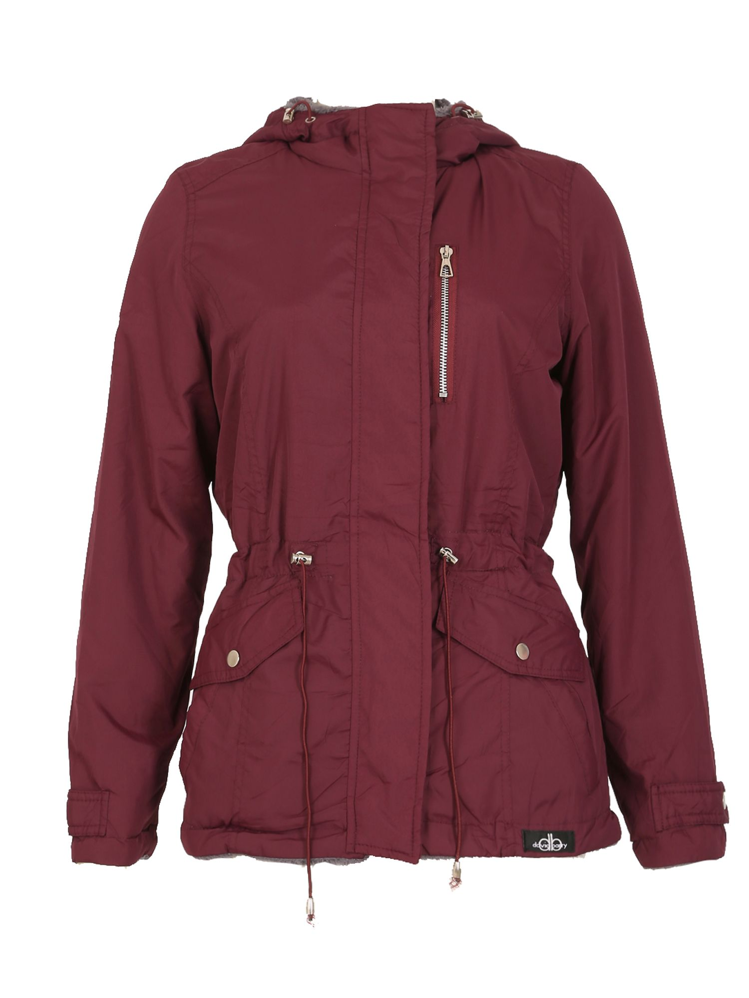 David Barry Reversible Multi Pocket Jacket, Red