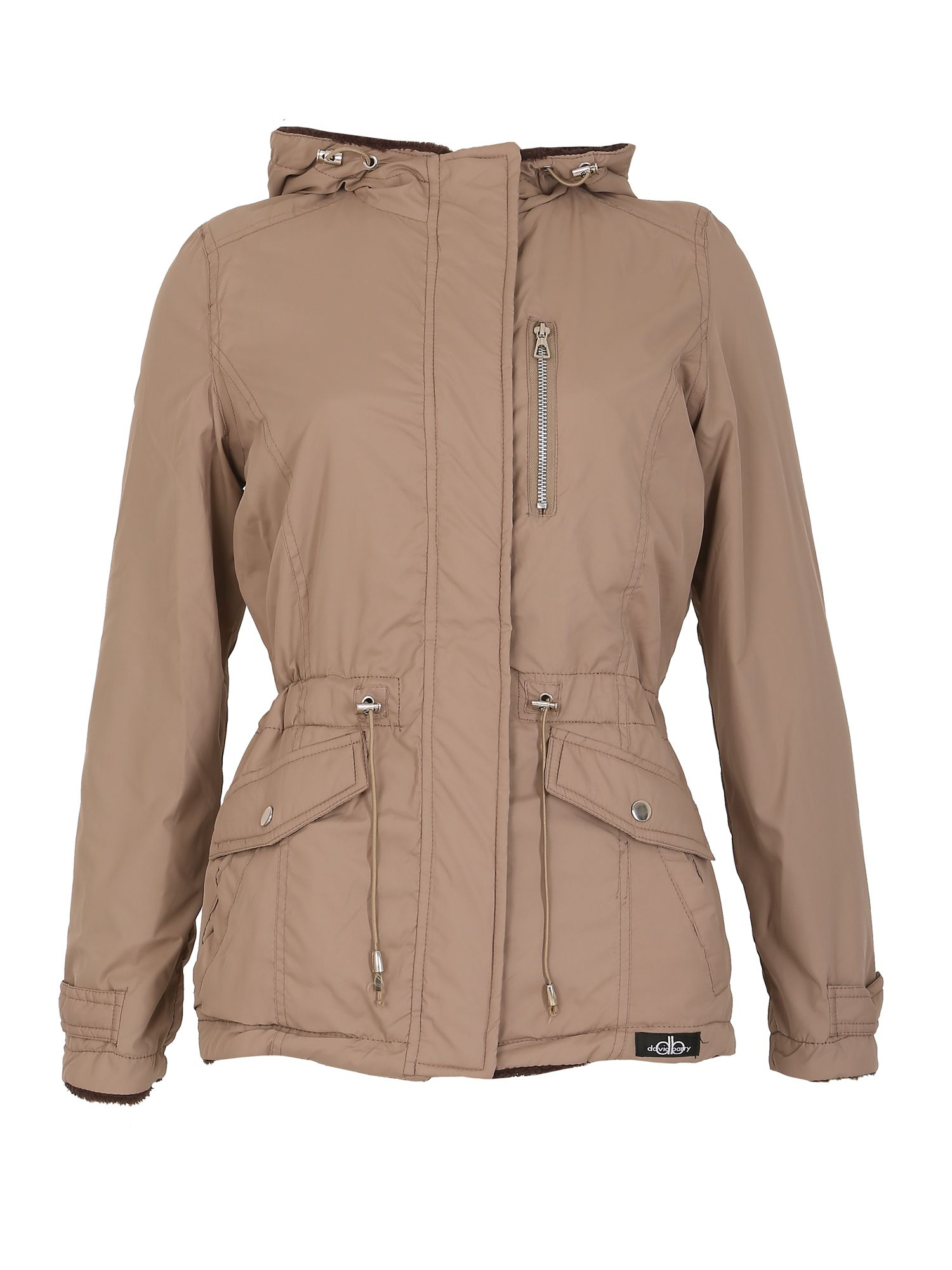 David Barry David Barry Reversible Multi Pocket Jacket, Khaki