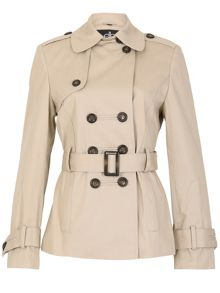 David Barry DB Belted Trench
