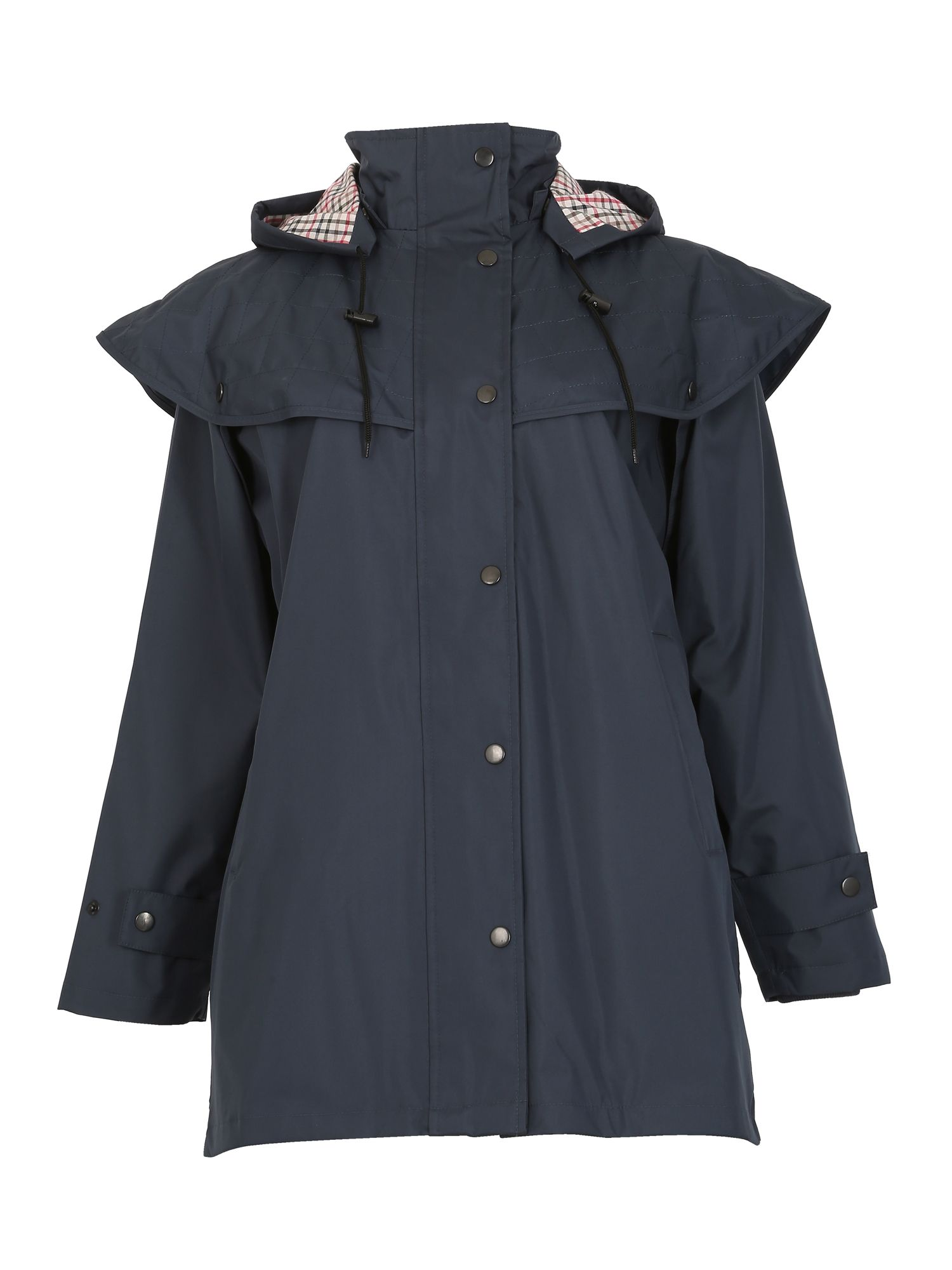 David Barry Shower Resistant Storm Jacket, Blue