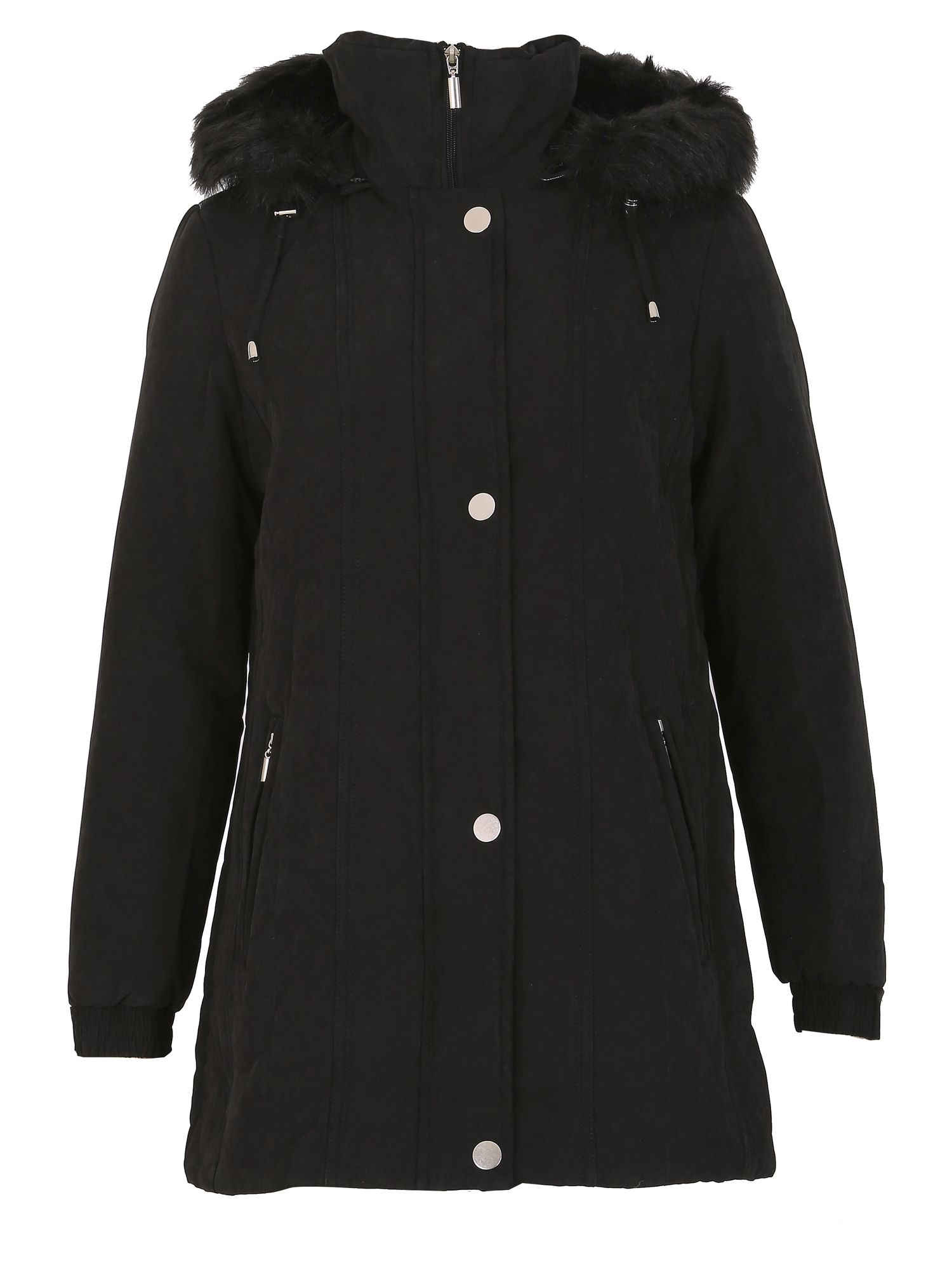 David Barry Mossy Microfibre Jacket, Black