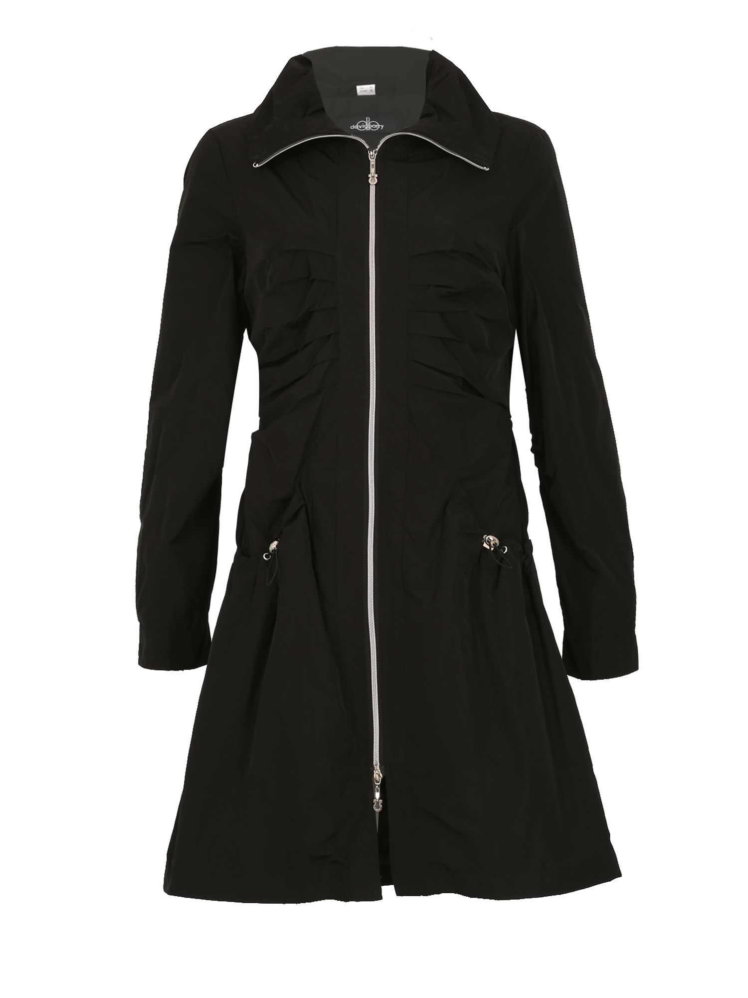 David Barry Ladies Raincoat, Black