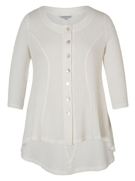 Chesca Cloque Jacquard Jersey Jacket