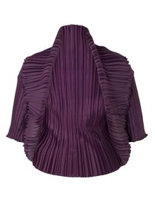 Crush Pleat Bolero