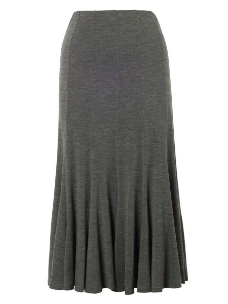 Chesca Twelve Panel Marl Jersey Skirt