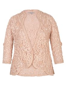 Chesca Lace Jacket with Cornelli Trim