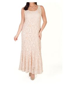 Chesca Lace Dress with Cornelli Trim