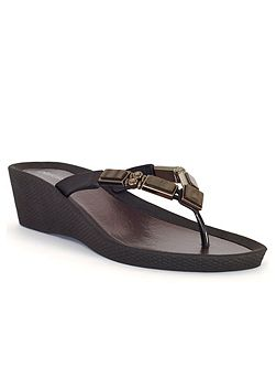 Mother of Pearl Beaded Sandal