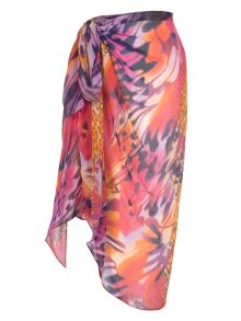 Chesca Animal Print Sarong