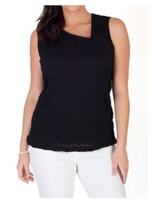 Chesca Asymmetric Bubble Top