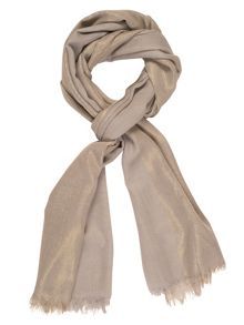 Chesca All-Over Metallic Printed Scarf