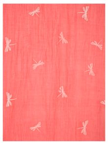 Chesca Dragonfly Printed Scarf