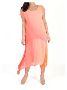 Chesca Ombre Chiffon Dress