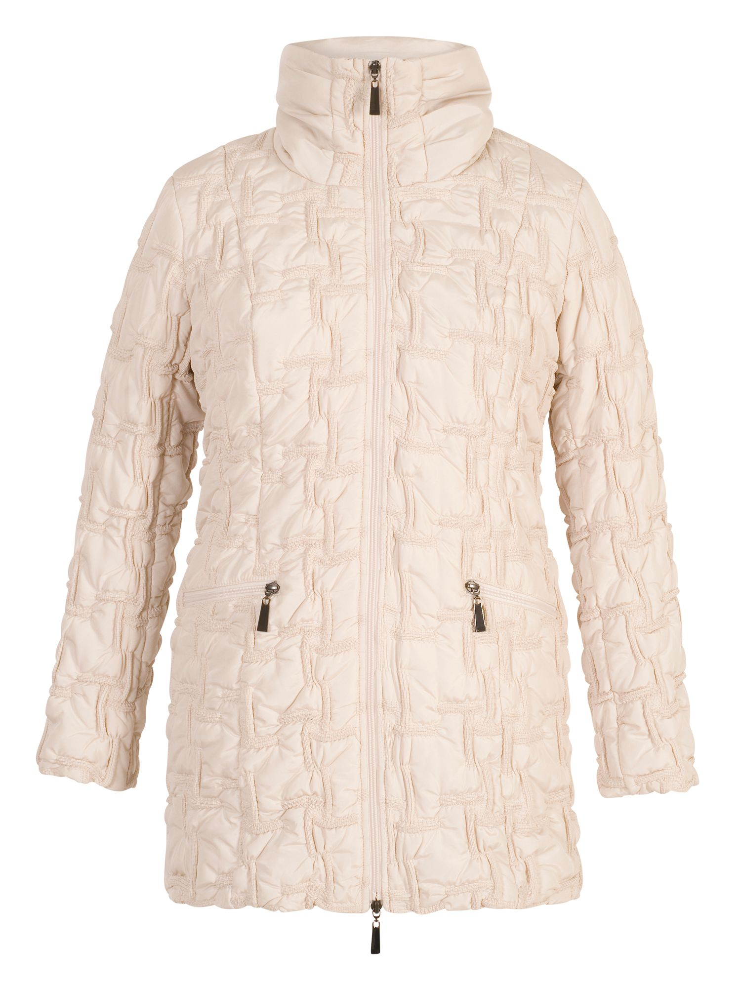 Chesca Bonfire Coat, Cream