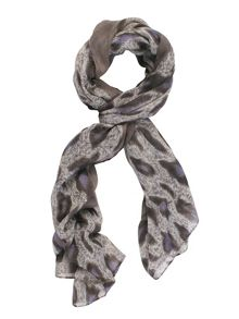 Chesca Leopard Print Scarf