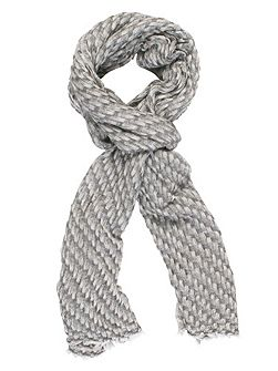 Bark Weave Cashmere Scarf