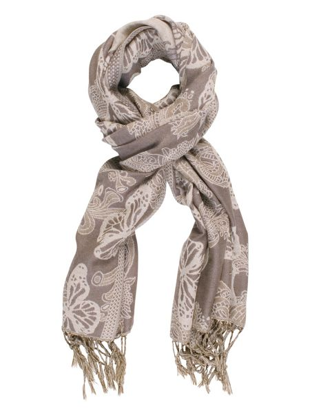Chesca Butterfly Printed Scarf