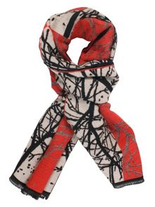 Chesca Striking Forest Pattern Scarf