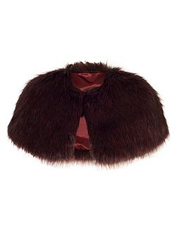 Faux Fur Luxury Shrug