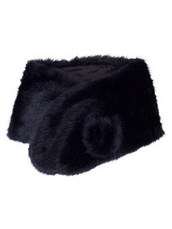 Large Faux Fur Wrap