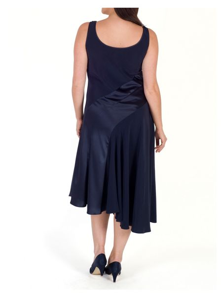 Chesca Satin Back Crepe Dress