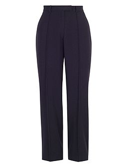 Pin Stitch Trim Stretch Trouser