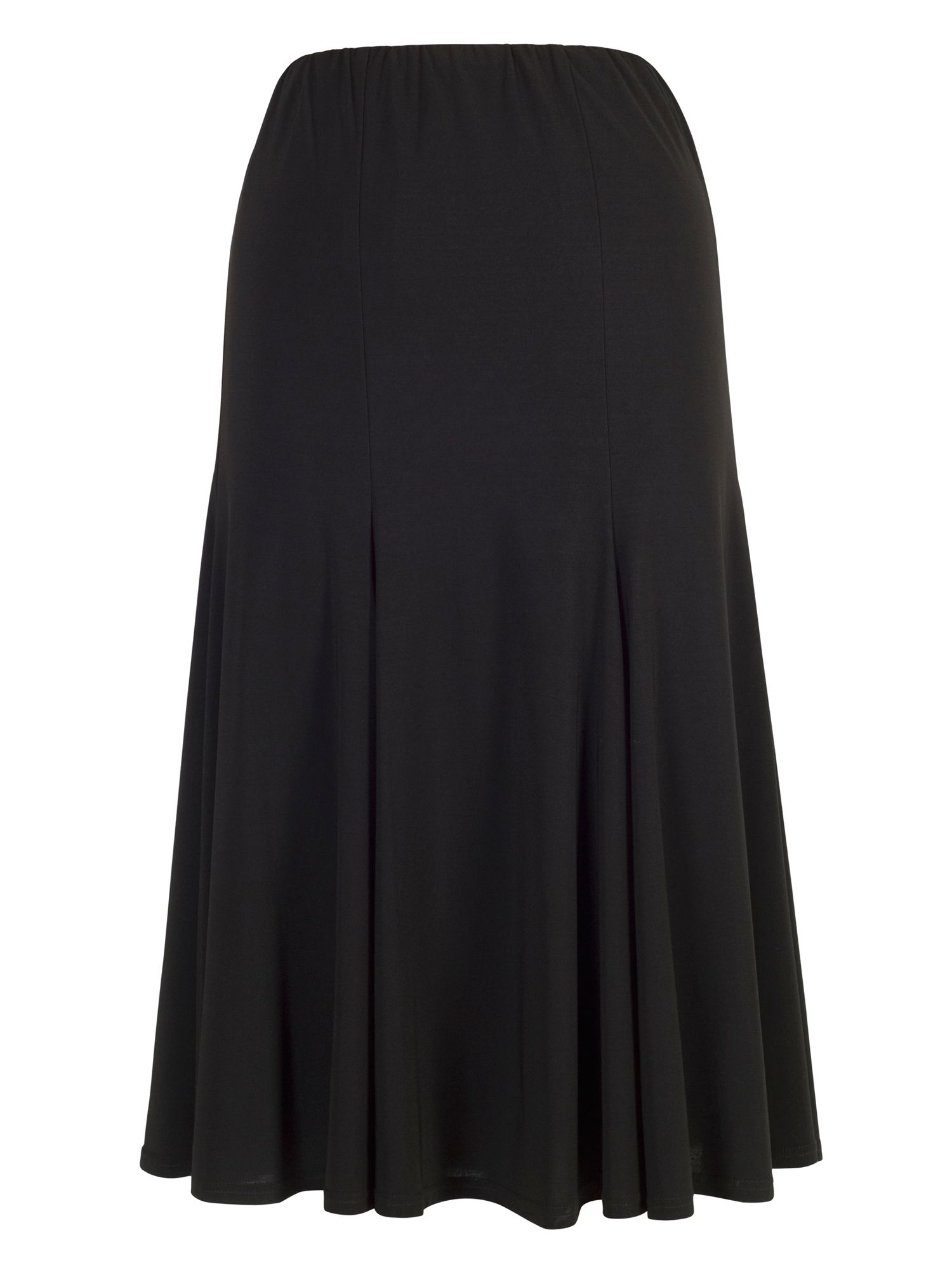 Chesca Jersey Skirt, Black