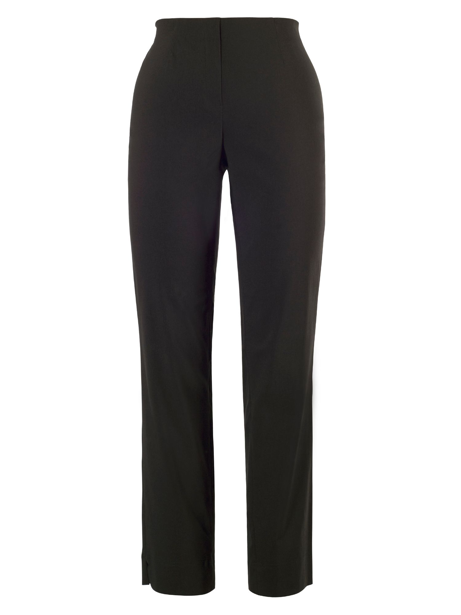 Chesca Pull On Stretch Twill Trouser, Black