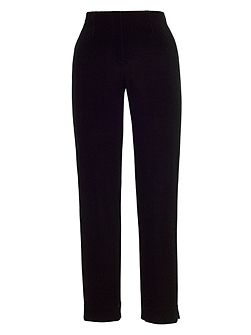 Velvet Pull On Stretch Trouser