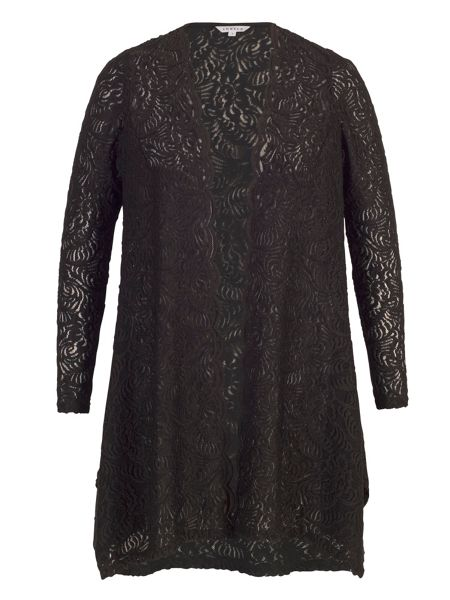 Chesca Scallop Lace Shrug