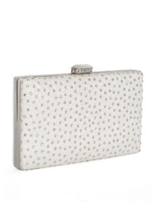 Chesca Floral Lace and Diamanté Clutch Bag