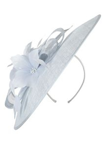 Chesca Sinamay Bow Hatinator with Flower Detail