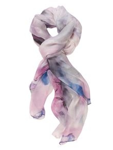 Chesca Rose Printed Scarf