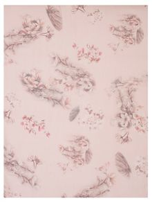 Chesca Branch and Rose Printed Scarf