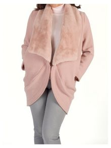 Chesca Shawl Collar Wool Coat