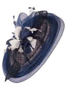 Chesca Flower and  Feather Oval Hatinator