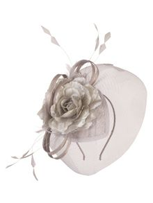 Chesca Mesh Net Flower Fascinator
