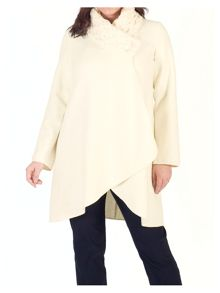 Chesca Aran Collar Coat