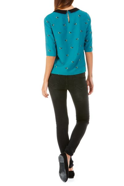 Sugarhill Boutique Nala Bird Print Top