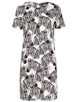 Lara Zebra Party Tunic Dress
