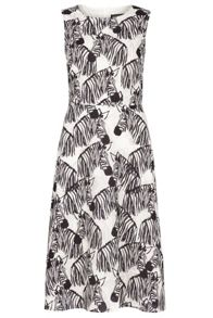 Sugarhill Boutique Liza Zebra Party Midi