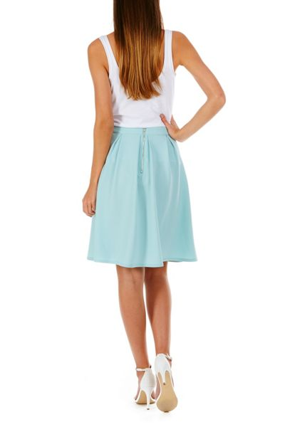 Sugarhill Boutique Fiona Textured Ponte Skirt