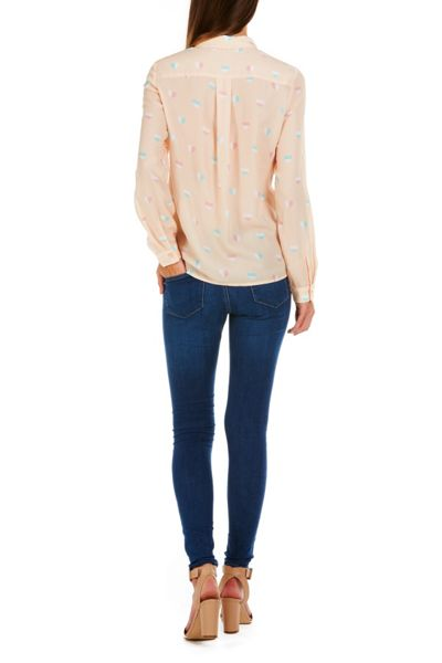 Sugarhill Boutique Jemima Half Heart Shirt