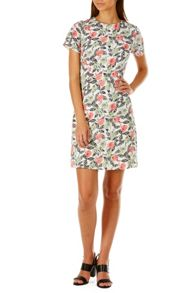 Poppy Lux Uma Floral A-Line Shift Dress