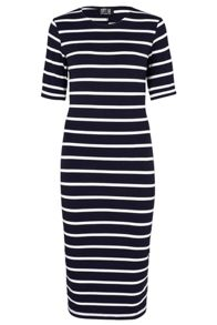 Octavia Stripe Bodycon Dress