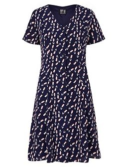 Vivi Tulip Print Tea Dress